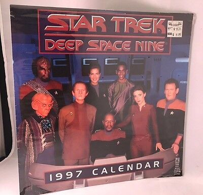 Star Trek Deep space Nine Calendar 1997 Mint