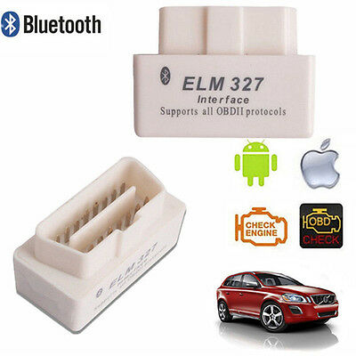 OBDll Bluetooth MiNi Car Auto Diagnostic Scanner Adapter Reader For iOS Android