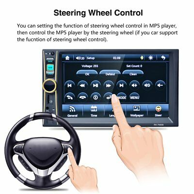 7 Inch High Definition Car Radio MP5 Player Touch Screen Bluetooth MP4 Player FF