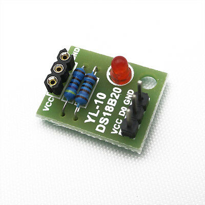 New DS18B20 Temperature Sensor Shield Module without DS18B20 Chip