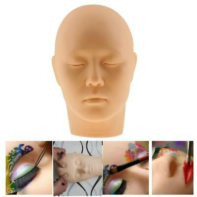 Face Lip Eyelash Makeup Practice Massage Tattoo Training Mannequin Head Doll