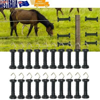 40Pcs Durable Heavy Duty Electric Fence Spring Gate Handles Fast Shipping