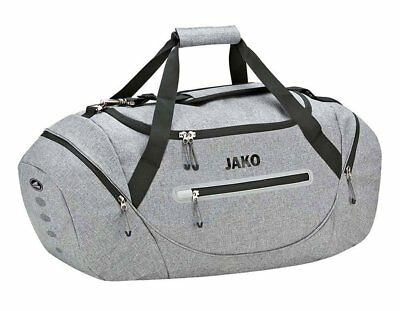 Jako Champ Sports Bag, grey mixed, Junior