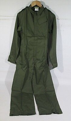 Ex British Army Olive Green Coveralls Overall Boiler Suit Child Kids Size 160/84