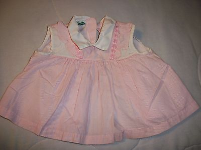 Vintage Baby Girl Dress--Duets by Little Craft Brand, L