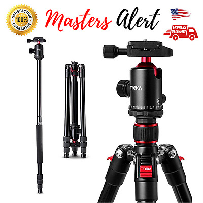 Professional Heavy Duty Video Camera Tripod with Panorama Fluid Head Kit 65 Inch