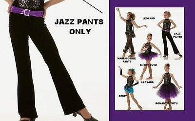 Get Your Sparkle On Dance Costume JAZZ PANTS ONLY Clearance CS,6X7,CXL,AS,AM