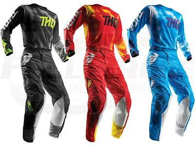 Thor MX Jersey & Pant Combo Set Pulse Air Radiate Vented Mesh Dirt Bike Gear