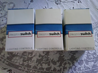 3 New Sensor Switch Wsdr Pir White 184Chl Motion Detector Switch