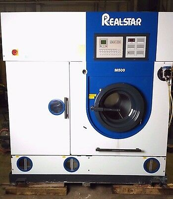 RealStar M500 Dry Cleaning Machine 25kg Capacity  91095/0195   Built 2006