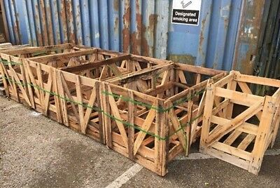 Large Wooden Pallet Storage Crate Log Store