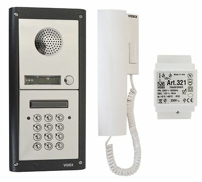videx DK4S audio entry system with keypad for electric gate automation