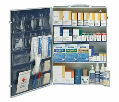 First Aid Only 54767 First Aid Kit, Metal Case Cabinet 45Nj74 New!