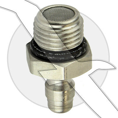 Mercruiser Motor Stainless Steel Male Quick Connect Fitting 22-865412001