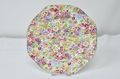 James Kent Apple Blossom Chintz Cake Sandwich Plate Afternoon Tea 20.2cm