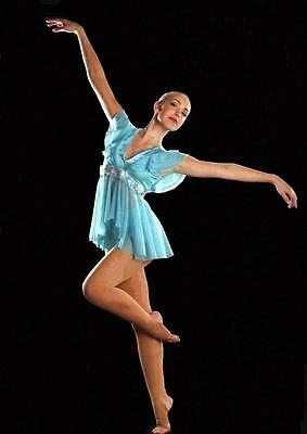 Hope and Praise Dance Costume Babydoll Lyrical Ballet Top With Hot Shorts New