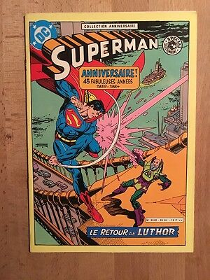 Superman - Le retour de Luthor - Sagédition - 1985 - TBE