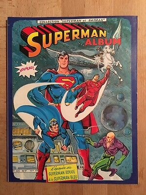 Superman - L'épopée de Superman Rouge - Sagédition - 1982 - TBE