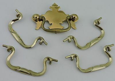 Vintage Drawer Cabinet Pull Handle Brass Or Metal Alloy Mix Lot Hardware