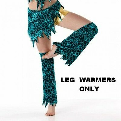 Wild Child Dance Costume LEG WARMERS ONLY Jazz Tap Adult X-Large New
