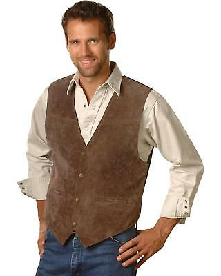 Scully Suede Leather Vest - 504-67