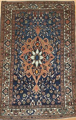 Marvelous Malayer - 1900s Antique Persian Rug - Floral Carpet - 3.3 x 5 ft.