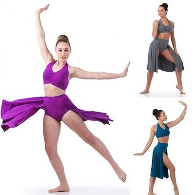 Fearless Dance Costume Lyrical Ballet Contemporary Ice Skating Child and Adult