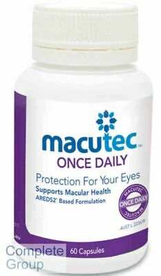 Macutec Once Daily X 3 Bottles Protection for your eyes Supports Macular Health
