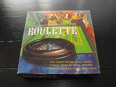 Vintage 1977 Roulette 8 3/8 inches. Pacific Game Co. Inc.