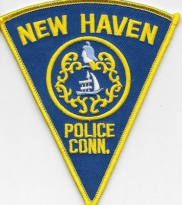 New Haven Conn Ct Police Dept Npd Hpd Pd Schooner  Local State County