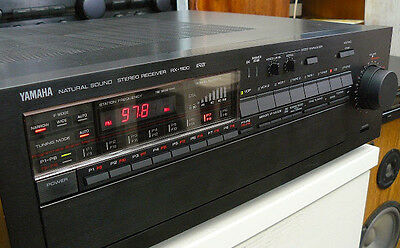 VINTAGE YAMAHA Receiver RX-1100 RS - Natural Sound Stereo Receiver -