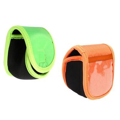 2 Pcs Fishing Reel Storage Bag Protective Cover Case Pouch Fishing Tackle