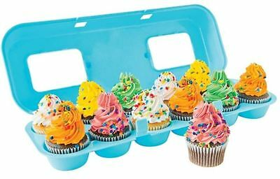 New D.line Cupcake Carton Holds 12 Cake Organizer Display Holder Gift Kitchen