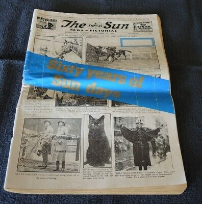 Sixty Years Of Sun Days – History Of Sun News Pictorial 1922-82