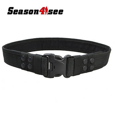 Tactical 2'' Heavy Load Swat Combat Duty Waist Belt Miliary Army Hunting Belt