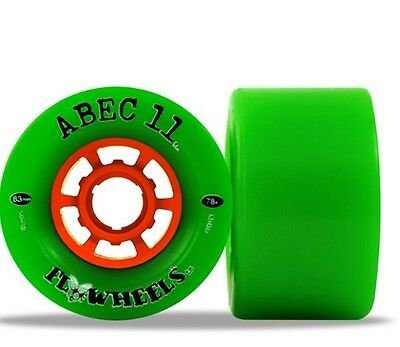 ABEC11 Flywheels Longboard Rollen Set (4stk.) 90mm/75A