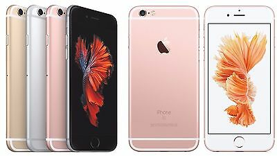 Apple iPhone 6 / 6s Plus 128GB Gold Rose Gold Silver Gray SIM Free LTE Phone :)