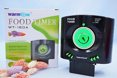 Adjustable LCD Automatic Fish Food Feeder Pond Aquarium Tank Auto Feeding Timer