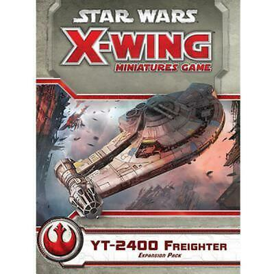 Star Wars X-Wing Miniatures Game: Yt-2400 Freighter Expansion Pack - Fantasy Fli