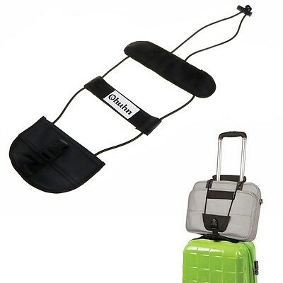 Travel Luggage Suitcase Tape Belt Adjustable Add A Bag Strap Carry On Bungee