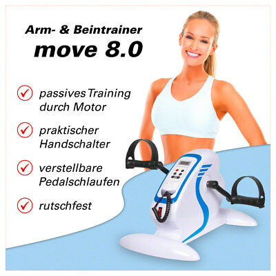 Bewegungstrainer Arm- und Beintrainer Minibike Pedaltrainer, Move 8.0