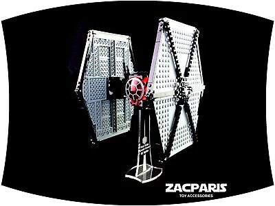 DISPLAY STAND for Star Wars Lego 75101 First Order Tie Fighter - Clear acrylic!