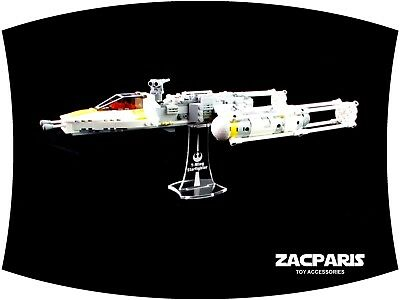 DISPLAY STAND for Star Wars Lego 7658 9495 75172 Y-Wing Starfighter NICE!