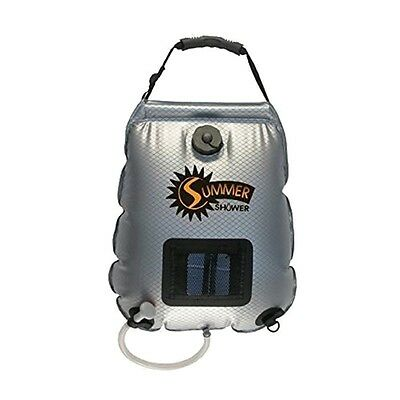 5 Gallon Solar Panel Powered Summer Shower by Advanced Elements