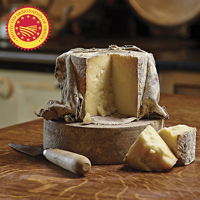 Cave Aged Truckle Cheddar Cheese, 1.8kg Minimum Weight (Serves 60 people)