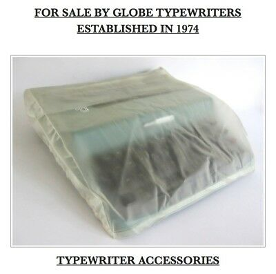 *OLIVETTI* TYPEWRITER CLEANING AND CORRECTION SET 2 x BRUSHES + RUBBER & GUARD