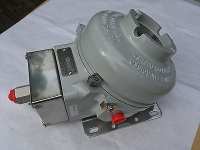 Bellows Actuated Series 200 Pressure Switch  K201 Delta Controls IP66 Flameproof