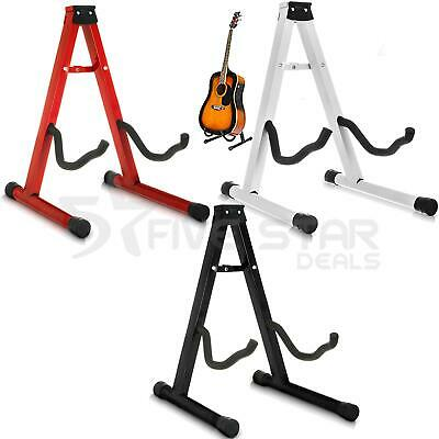 Universal Folding Frame Electric Acoustic Bass Guitar Music Floor Stand Holder
