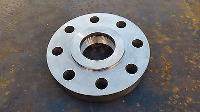 """3"""" Inch NPT 8"""" OD Flange Stainless Steel FREE SHIPPING"""