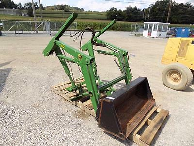 "John Deere 40 Loader W/ 48"" Bucket, Brackets For L& G Tractors  Fits Many Models"